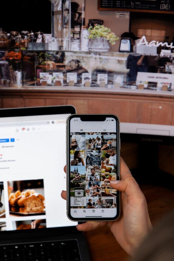 Social-Media Auftritt und Webseite Aamu