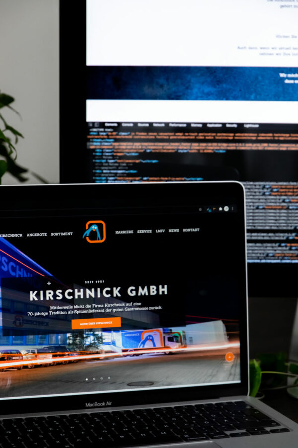Webseite Kunde Kirschnick GmbH